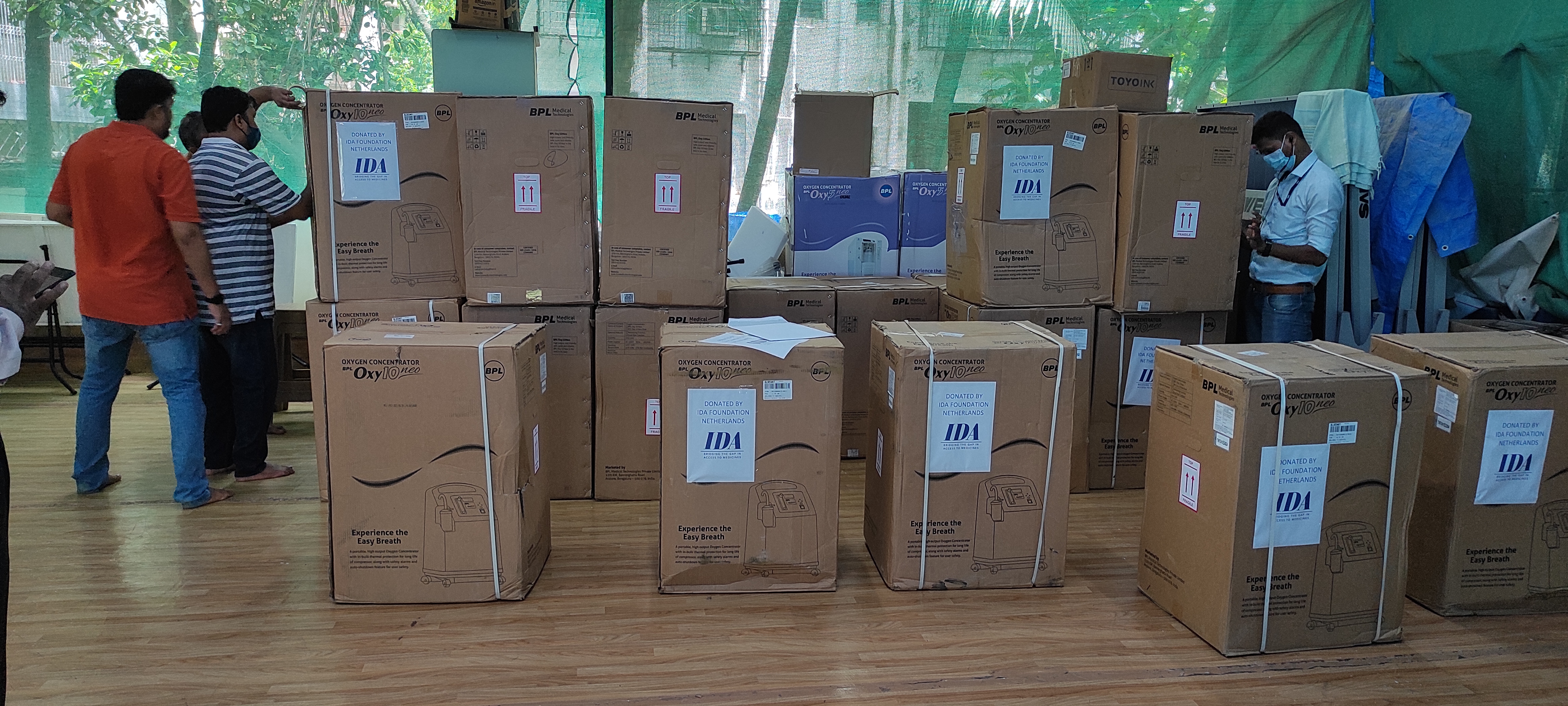 IDA supports Mumbai hospitals with oxygen concentrators