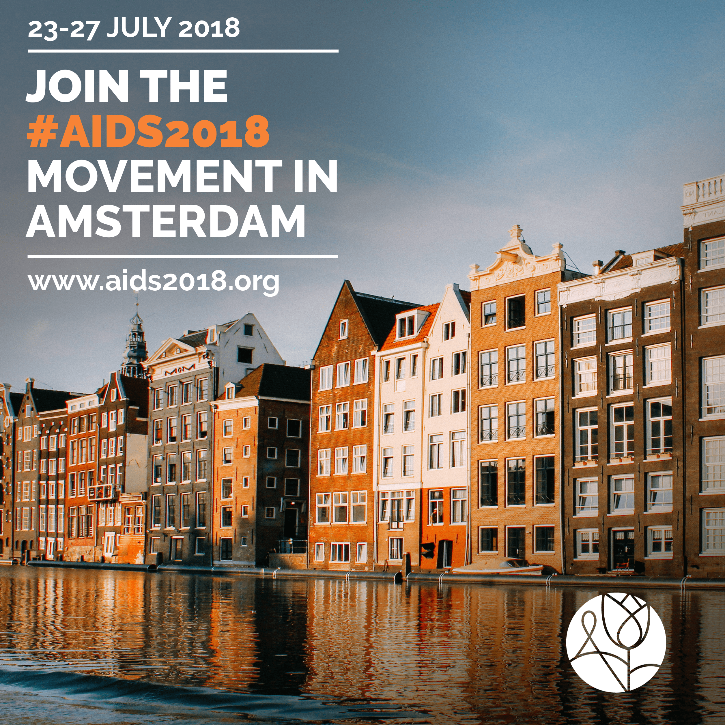AIDS2018 comes to Amsterdam!