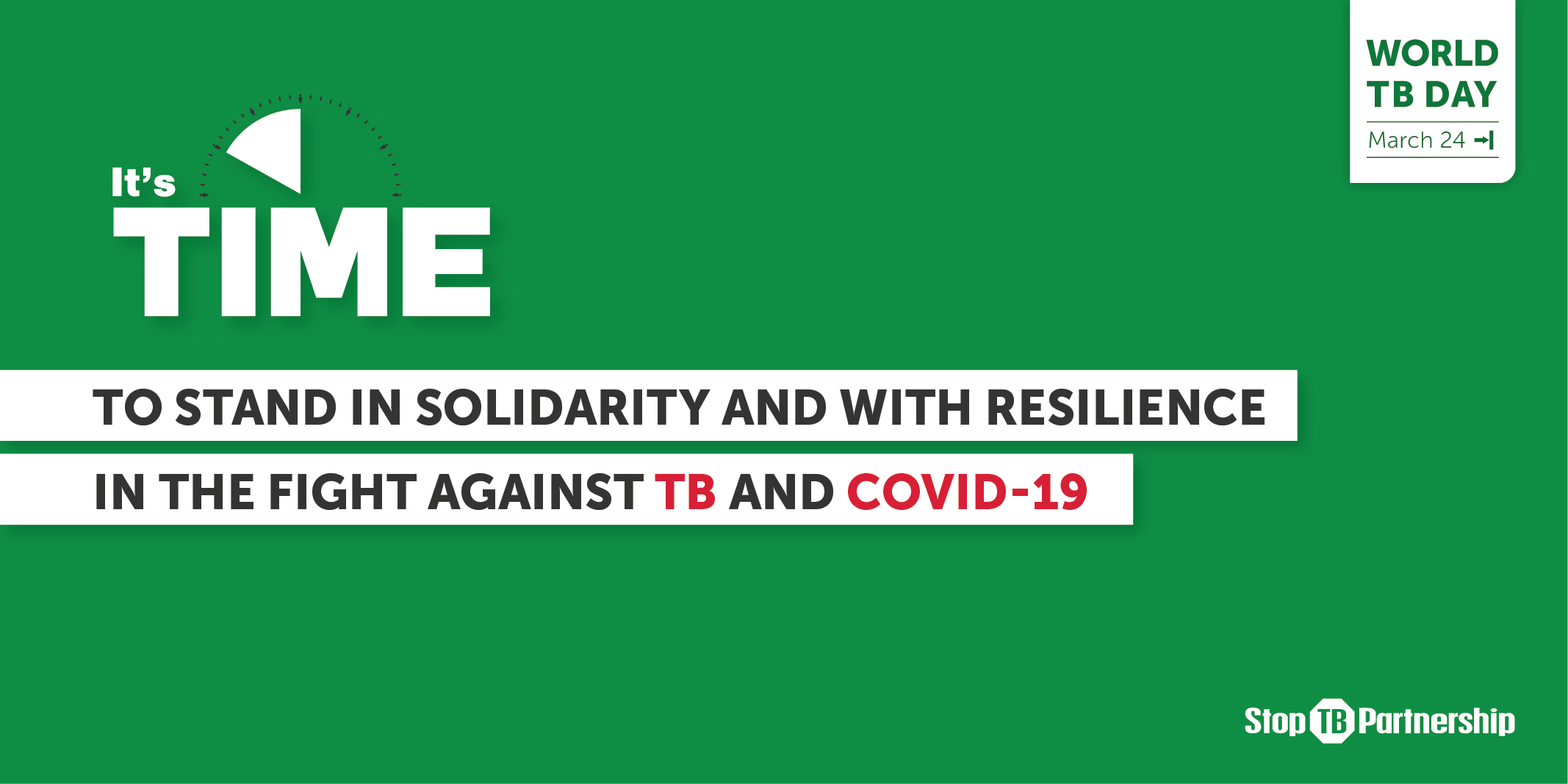 World TB Day: United in the fight against COVID-19 and TB