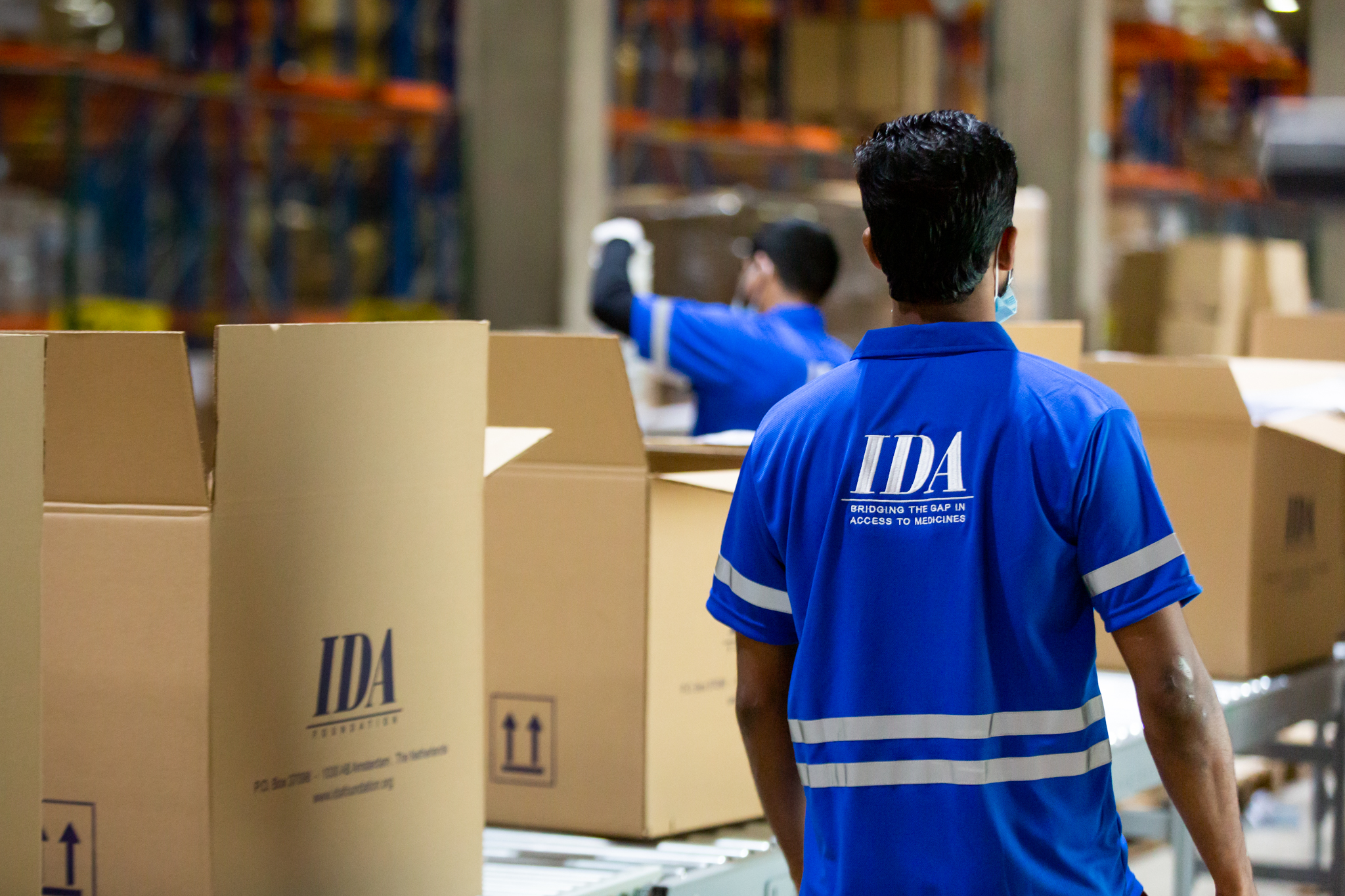 IDA supplies oxygen concentrators to LMICs