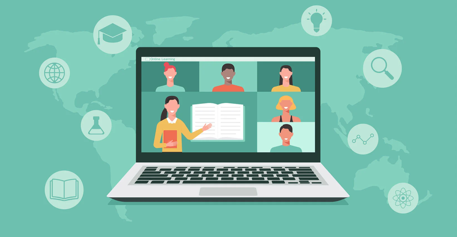 Personal and professional development through online learning